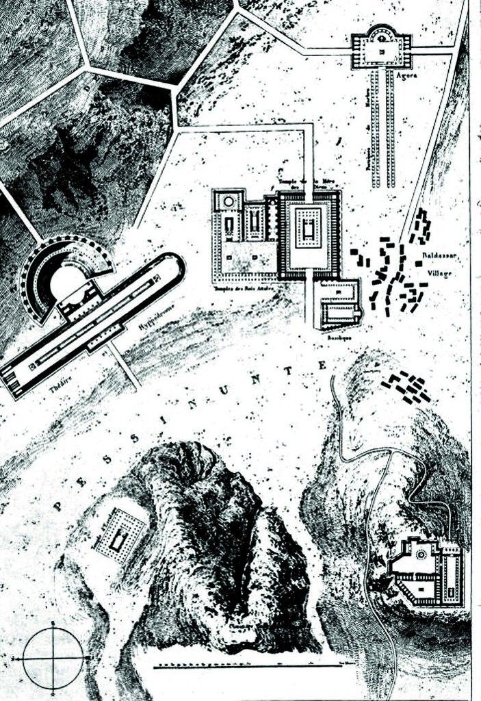 Plan of Ballihisar, Charles Texier 1834.tiff