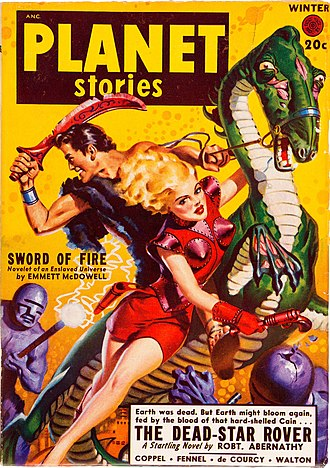 "Robert Abernathy - Abernathy's novella ""The Dead-Star Rover"" was cover-featured on the Winter 1949 issue of Planet Stories"