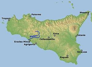 Minoa - Heraclea Minoa at the mouth of the river Platani in Sicily