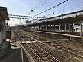 Platform of Tokuyama Station (Sanyo Main Line) 2.jpg