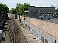 Platforms and building of former Salem station, May 2012.JPG