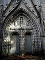 Plonévez-du-Faou (29) Chapelle Saint-Herbot Façade ouest 02.JPG