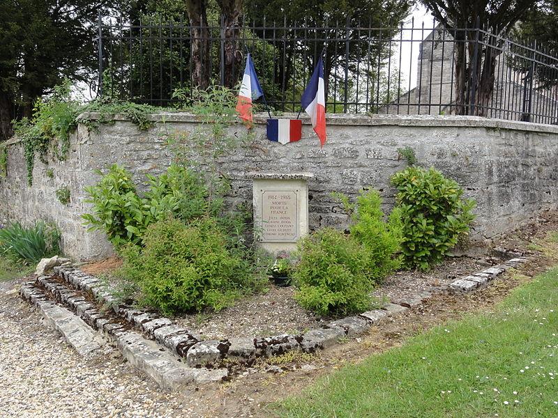 Ployart-et-Vaurseine (Aisne) monument aux morts à Ployart