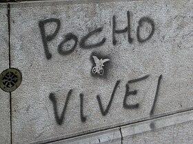 Uno de los miles de grafitos que llenan las paredes de Rosario. (Foto de 2007)
