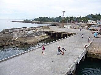Tablas Island - Image: Poctoy Pier 81030cg
