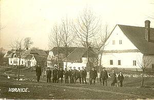 Kornice - Kornice about 1920