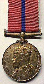 King Edward VII Police Coronation Medal Award