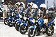 Policiais da PMBA em motos