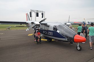 Police aviation - A Vulcanair P68 Observer of the Hesse State Police (Germany)