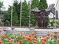 Pomnik Powstańców w hołdzie mieszkańcom ziemi wodzisławskiej - panoramio.jpg