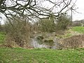 Pond in farmland, Old Sodbury - geograph.org.uk - 1217880.jpg