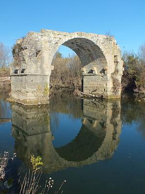 Villetelle - The Pont Ambroix at Villetelle