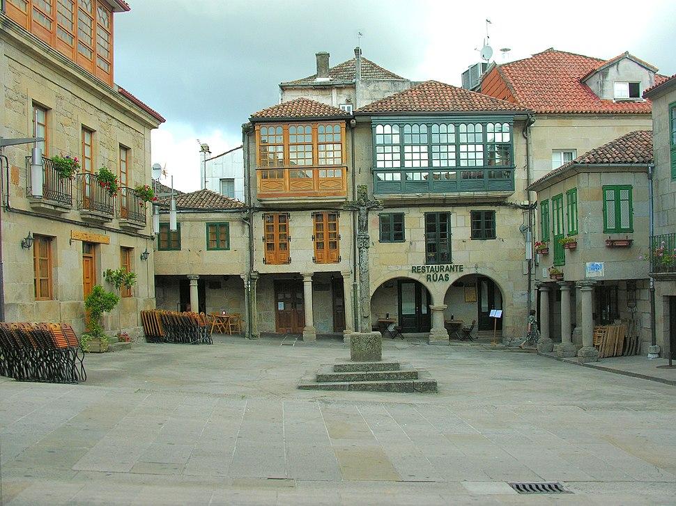 Pontevedra 13 Praza da leña