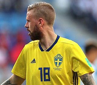 Pontus Jansson Swedish footballer