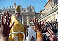 Pope Benedictus XVI - St. Peter's Square - Vatican City - 11 Oct. 2008.jpg