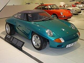 Porsche Panamericana Concept car developed by Porsche
