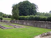 Port-Royal-des-Champs Les ruines de l'abbaye