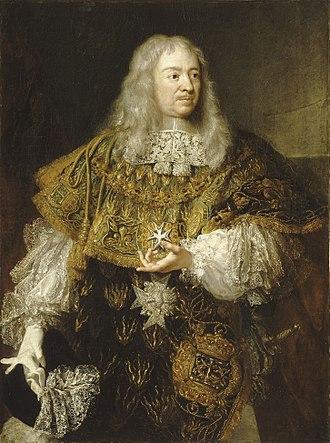 Gabriel de Rochechouart de Mortemart - Image: Portrait of Gabriel de Rochechouart, Duke of Mortemart wearing the Order of the Holy Spirit (Versailles, unknown artist)