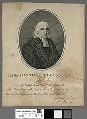 Revd. Daniel Rowland. of Langeitho