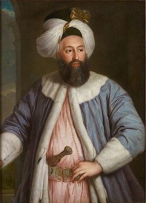 Yirmisekiz Mehmed Çelebi - Image: Portrait of Yermisekiz Çelebi Mehmed Efendi, 1724
