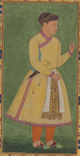 Mahabat Khan - Portrait of Zamana Beg, Mahabat Khan