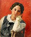 Portrait of a girl by Ivan Kulikov.jpg