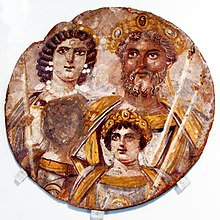Portrait of family of Septimius Severus - Altes Museum - Berlin - Germany 2017.jpg