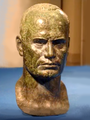 Portrait of the man. Bronze. Tertenia. Province of Nuoro. Sardinia. Italy.png