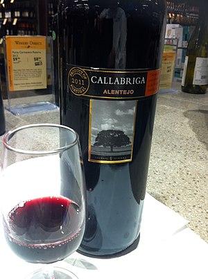 Alicante Bouschet - A red wine from the Alentejo that is a blend of several Portuguese grape varieties including Aragonez (Tinta Roriz/Tempranillo), Alicante Bouschet and Alfrocheiro.