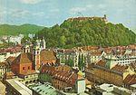 Postcard of Ljubljana view 1969.jpg