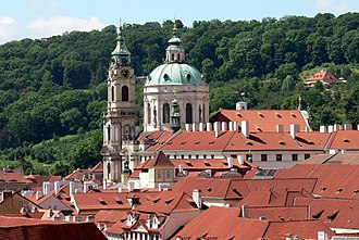 Baroque - St. Nicholas Church in Lesser Town in Prague was founded in 1703 under the lead of the Baroque architect Christoph Dientzenhofer.