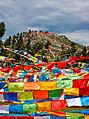 Prayer flags near Litang.jpg