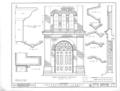 Presbyterian Church, North Chinabee and East Clinton Streets, Jacksonville, Calhoun County, AL HABS ALA,8-JACVI,3- (sheet 7 of 7).png