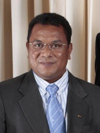 President of Nauru - Image: President Marcus Stephen of Nauru