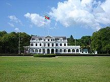 Suriname-Colonial period-Presidential palace, Paramaribo, Suriname