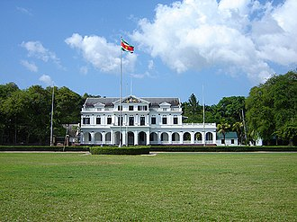 Suriname - Presidential Palace of Suriname