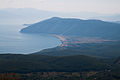 Prespa Lake seen from Galicica2.jpg
