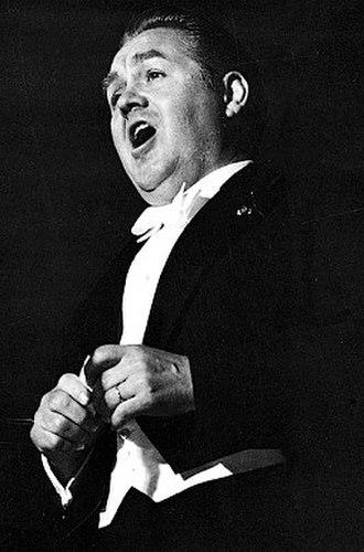 Jussi Björling - Björling performing at Skansen, Stockholm in 1960