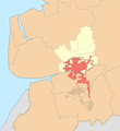 Preston (sub-division of Preston Urban Area) locator map.png