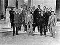 Primeros alumnos de la Universidad Nacional de Tucumán. Año 1914.jpg