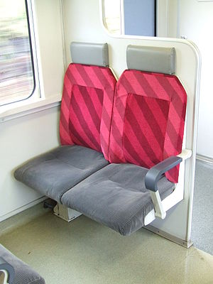 215 series - Image: Priority Seat of JR 215