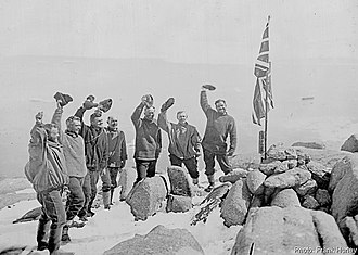 Historic Sites and Monuments in Antarctica - Image: Proclamation Island 1930