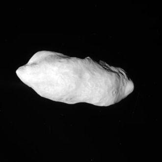 Prometheus (moon) - Prometheus image from Cassini (December 26, 2009)