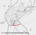 Proposed Ely Southern Bypass.png