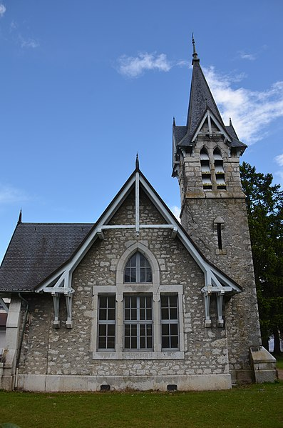 Protestant church of Divonne-les-Bains