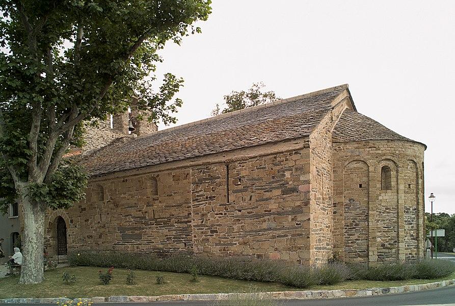 Chapelle de la Trinité, Prunet-et-Belpuig (Pyrénées-Orientales, Languedoc-Roussillon, France)