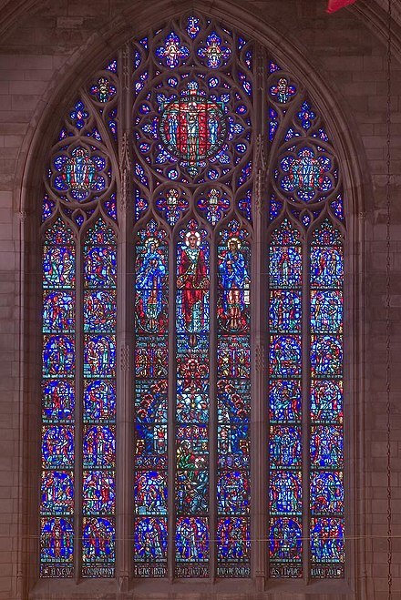 The Crucifixion window Pu-chapel-crucifixion.jpg