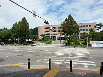 Songtan - Pyeongtaek City Council located in the center of Songtan