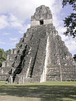 Pyramid in central plaza, Tikal, Guatemala.jpg