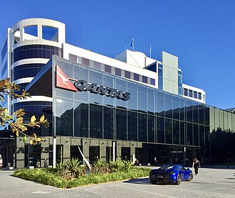 Qantas - Qantas Headquarters in Mascot, Australia